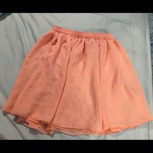 American Apparel summer light skirt